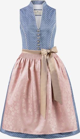 STOCKERPOINT Dirndl 'Melinda' in blau / rosa, Produktansicht