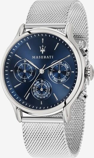 Maserati Uhr 'Epoca' in dunkelblau / silber, Produktansicht