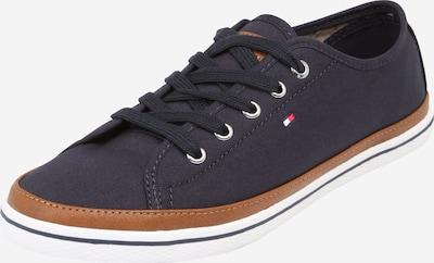 TOMMY HILFIGER Sneaker in nachtblau / braun, Produktansicht