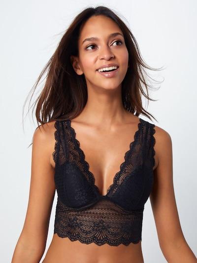 Liemenėlė 'SURI-TOP2' iš SISTERS POINT , spalva - juoda, Modelio vaizdas