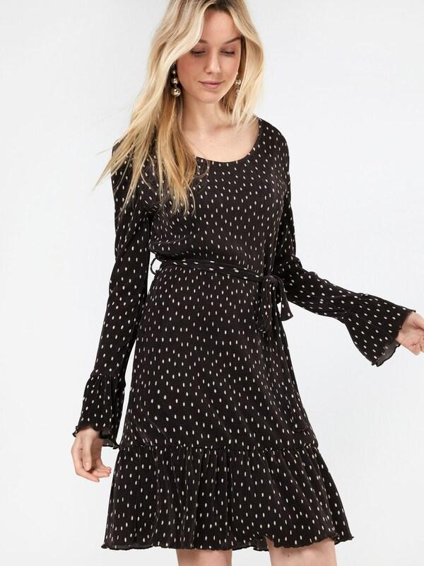 Yumi Kleid 'SPOT CRINKLED DRESS'