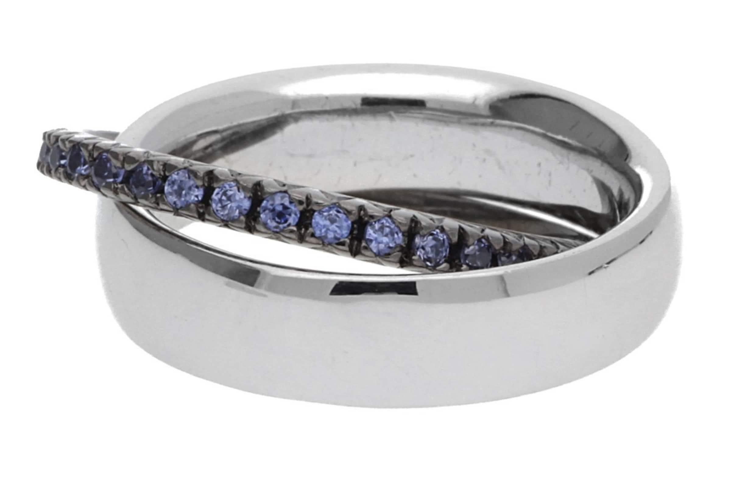 Billig Verkauf Für Billig ESPRIT Damen 2 teiliger Fingerring 925 Silber Silber/Blau Pellet Heart ESRG91774A Billig Zu Verkaufen Verkauf Genießen s3Rr9Vp5Q6