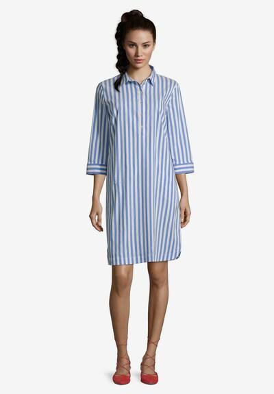 Betty Barclay Hemdblusenkleid mit Streifen in blau / weiß, Modelansicht