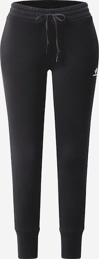CONVERSE Pantalon 'Chevron' en noir / blanc, Vue avec produit