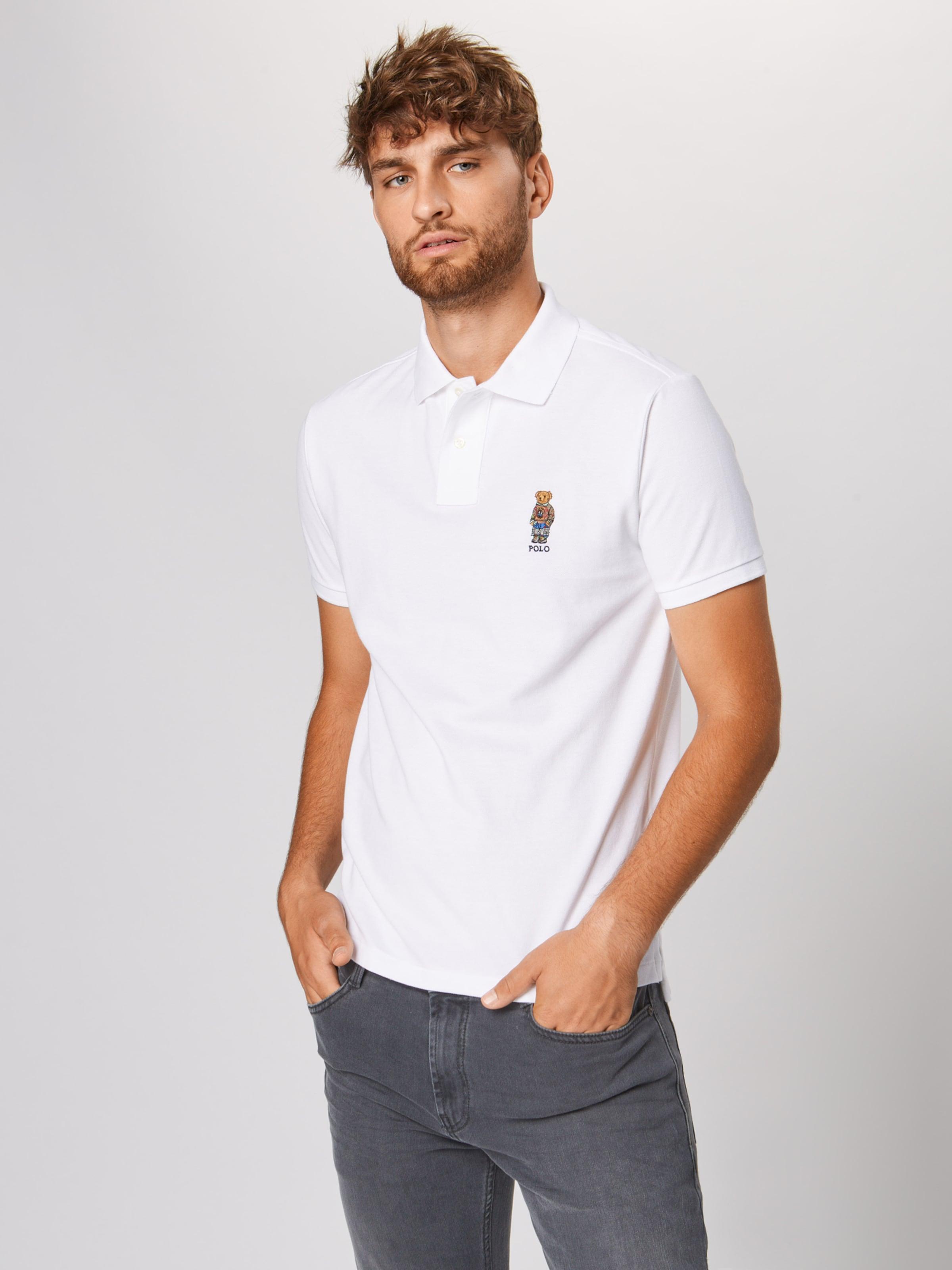 Ralph Poloshirt In Lauren Polo Weiß R34jq5AL