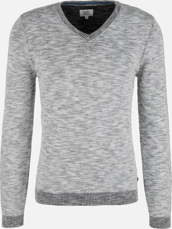 Q/S designed by Pullover in grau, Produktansicht