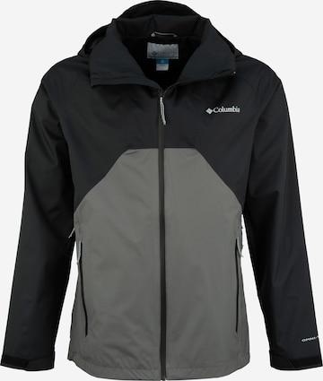 COLUMBIA Jacke 'Rain Scape Jacket' in Grau