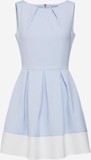 Closet London Robe fourreau en bleu fumé / blanc cassé, Vue avec produit