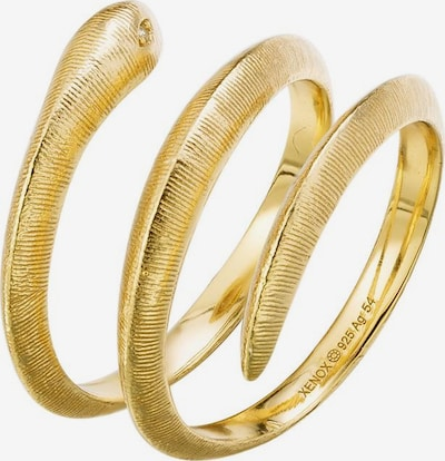XENOX Ring 'Paradise Schlange' in gold, Produktansicht