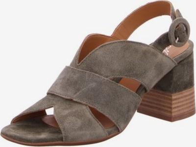 Alpe Sandalen/Sandaletten in grau, Produktansicht