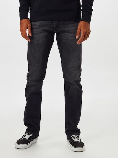 Calvin Klein Jeans Jeansy '026 SLIM' w kolorze czarny denimm, Podgląd na modelu(-ce)