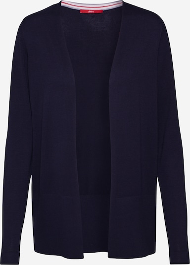 s.Oliver Strickjacke in navy, Produktansicht
