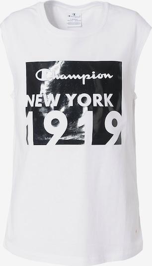 Champion Authentic Athletic Apparel Top in schwarz / weiß, Produktansicht