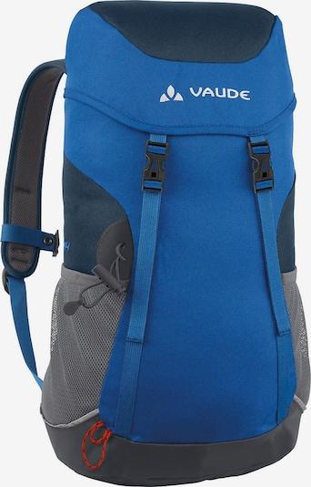 VAUDE Rucksack 48 cm Kids Puck 14 in blau / anthrazit: Frontalansicht