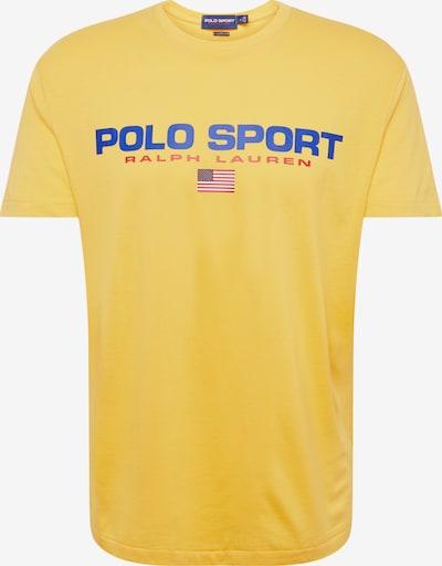 POLO RALPH LAUREN T-Shirt '26/1 JERSEY-SSL-TSH' en bleu / jaune: Vue de face