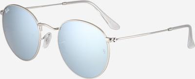 Ray-Ban Saulesbrilles 'Round metal', krāsa - debeszils / Sudrabs, Preces skats