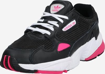 ADIDAS ORIGINALS Sneaker 'Falcon' in pink / schwarz, Produktansicht