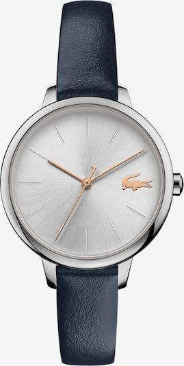 LACOSTE Uhr 'Cannes' in enzian / goldgelb / silber / weiß, Produktansicht