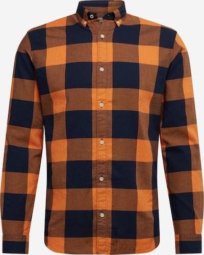 JACK & JONES Košile 'JPRBLAMELANGE' - oranžově červená / černá, Produkt