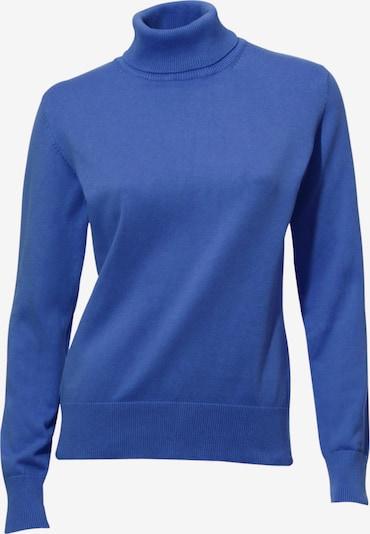 Pulover heine pe albastru regal, Vizualizare produs