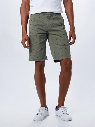 Pantaloni eleganți de la BLEND pe verde