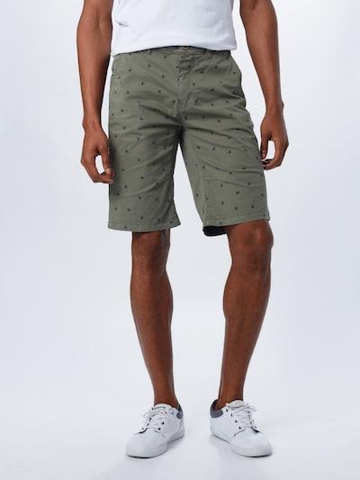 BLEND Chino kalhoty - olivová, Model/ka