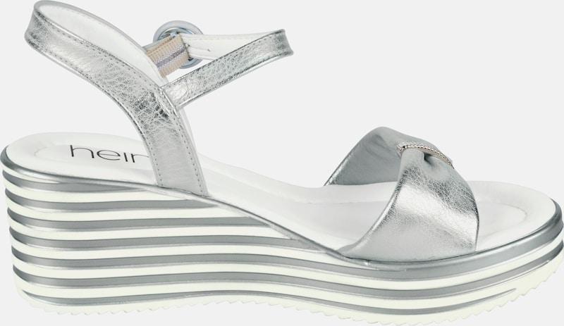 heine Keilsandalette mit Plateau-Sohle Günstige und langlebige Schuhe