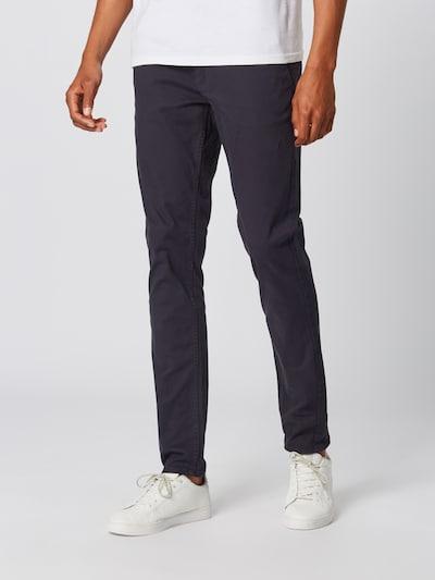 BLEND Chino kalhoty 'NOOS' - námořnická modř, Model/ka