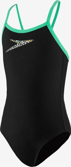 SPEEDO Badeanzug in limette / schwarz, Produktansicht