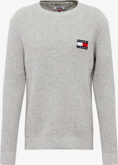 Tommy Jeans Pullover in hellgrau, Produktansicht