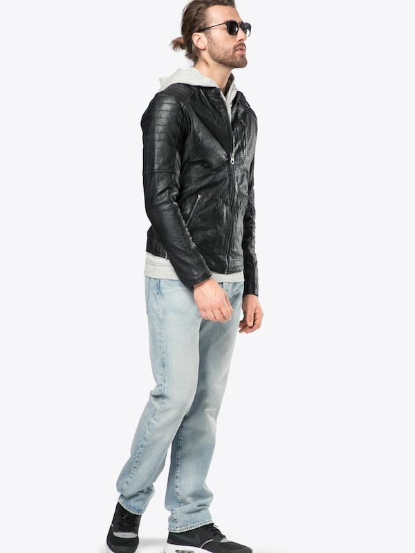Jack & Jones Lederjacke Jjvrichard Lamb Leather Jacket Noos