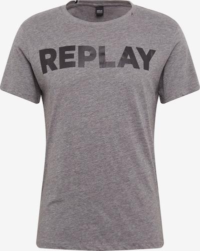 REPLAY T-Shirt in dunkelgrau, Produktansicht