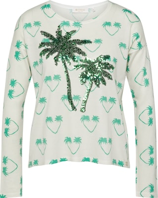 Rich & Royal Pullover 'Palm Tree Print'
