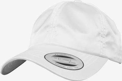 Flexfit Low Profile Dadcap in weiß: Frontalansicht