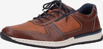 RIEKER Sneakers laag in de kleur Navy / Karamel / Kastanjebruin, Productweergave