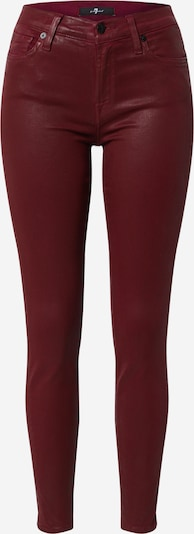 7 for all mankind Jeans in burgundy, Item view