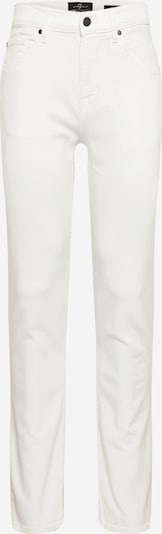 7 for all mankind Jean 'SLIMMY LUXE PERFORMANCE' en blanc denim, Vue avec produit