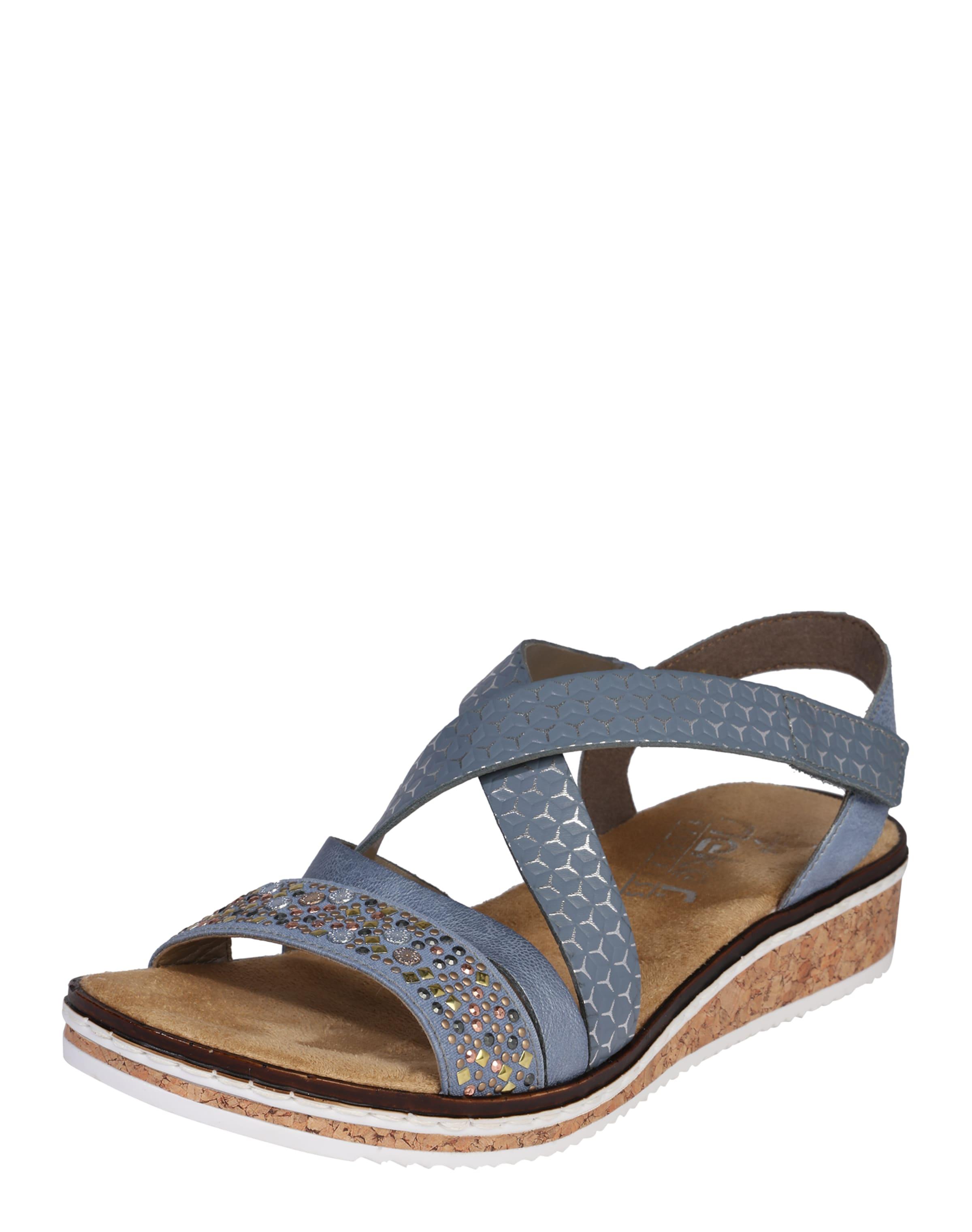 Haltbare Mode billige Schuhe RIEKER | Sandale Schuhe Gut getragene Schuhe