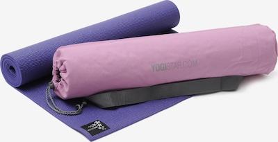 YOGISTAR.COM Yoga-set Starter Edition in dunkellila, Produktansicht