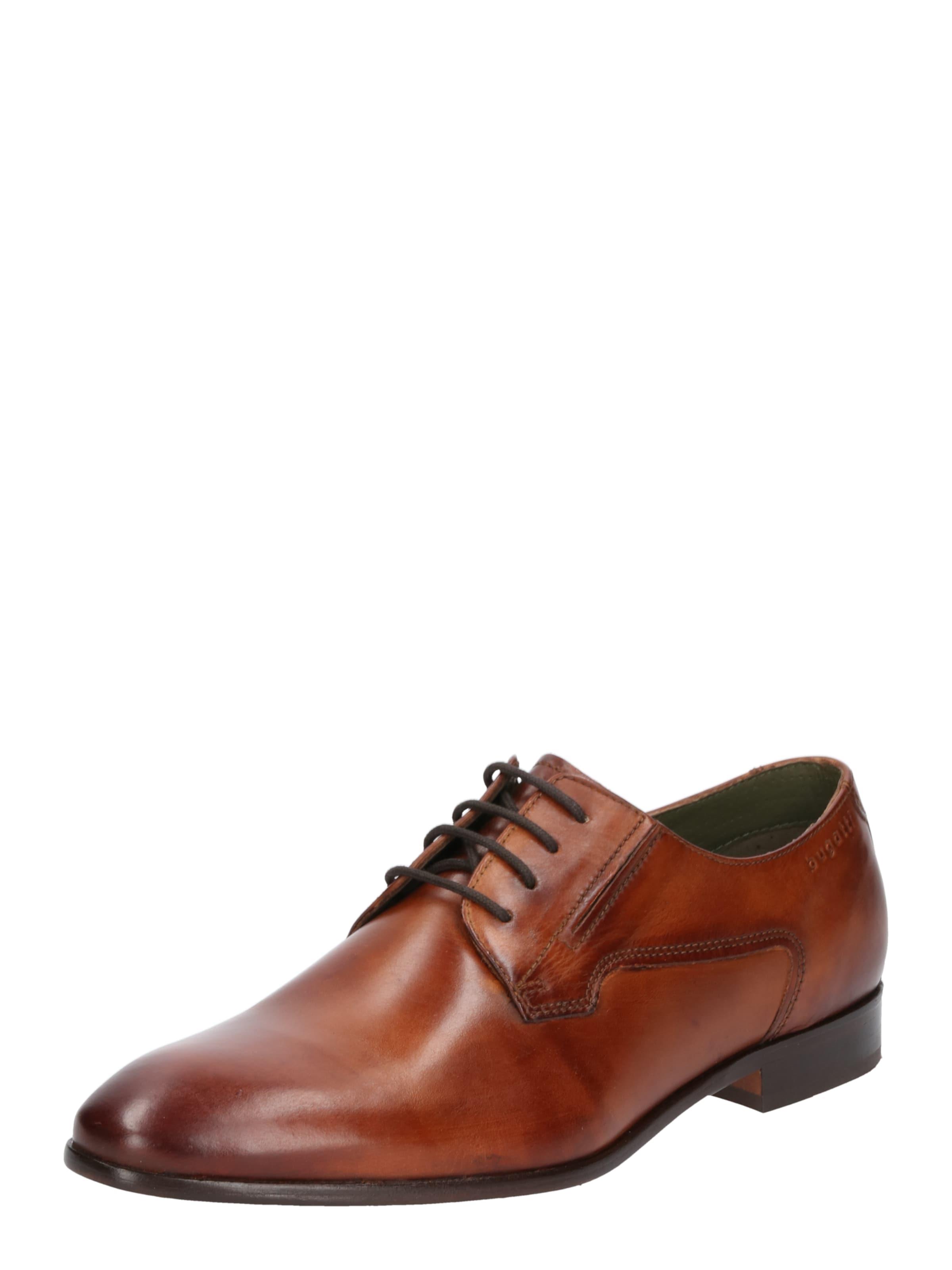 bugatti Schnürschuh aus Leder Günstige und langlebige Schuhe
