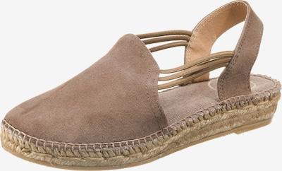 Toni Pons Sandalen 'Nuria' in taupe, Produktansicht