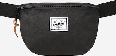 Herschel Sacs banane 'Fourteen' en noir / blanc, Vue avec produit