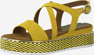 MARCO TOZZI Sandale in safran, Produktansicht