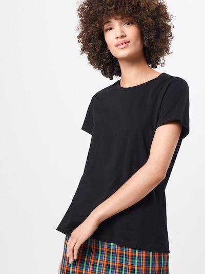 Samsoe Samsoe Shirt 'Solly' in schwarz: Frontalansicht
