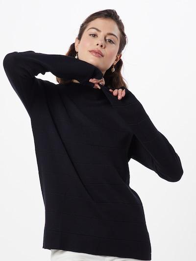 TOM TAILOR Pullover 'milano' in schwarz, Modelansicht