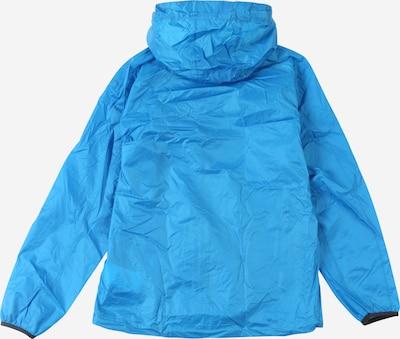 CMP Regenjacke in himmelblau: Rückansicht