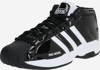 ADIDAS PERFORMANCE Basketballschuhe in schwarz / weiß, Produktansicht