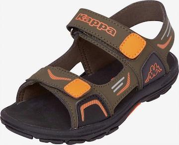 KAPPA Sandale 'Pure' in Braun