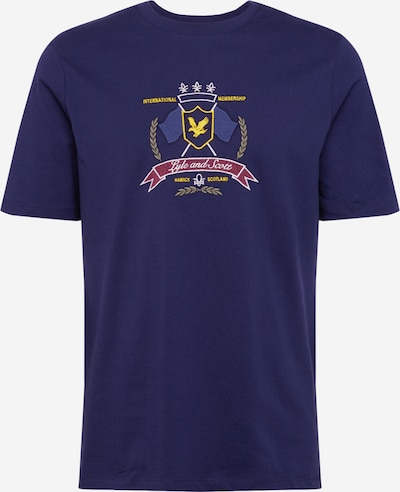 Lyle & Scott Shirt  'Crest' in navy, Produktansicht