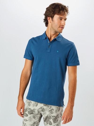 INDICODE JEANS Koszulka 'Huesca' w kolorze błękitnym: Widok z przodu